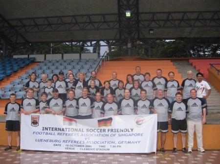 Singapur 2005 - die Lüneburger Reisegruppe