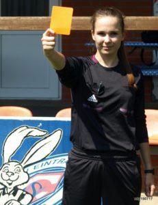Zukünftig wir Celina Böhm (18) auch in der Frauen-Regionalliga-Nord ihre Karten zeigen. Foto: mip