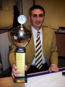 Lüneburgs Schiedsrichter des Jahres: Ioannis Kafetzakis.