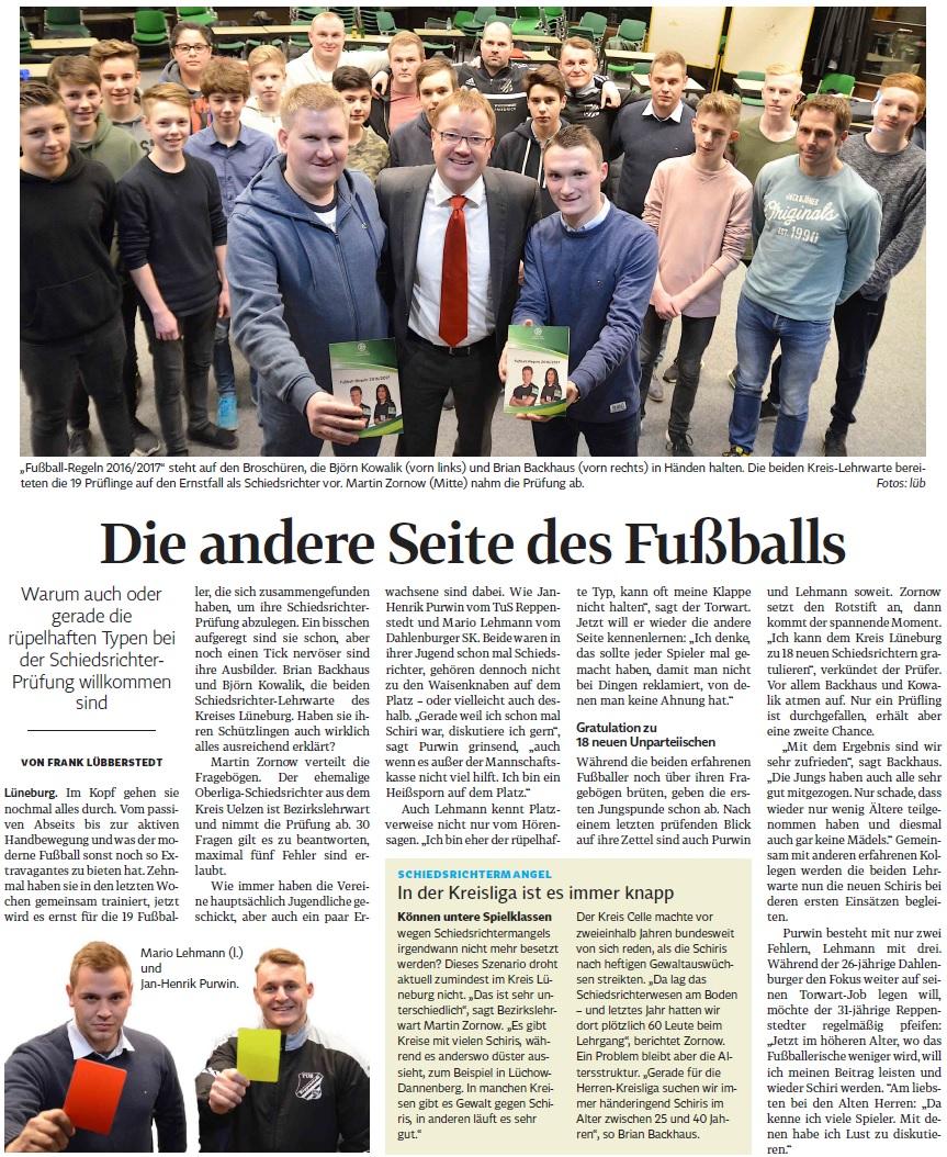 Dank an die Landeszeitung (http://www.landeszeitung.de/)!